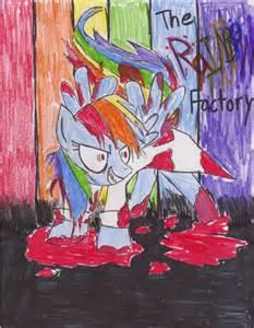 MLP Creepypasta Rainbow Factory Dash