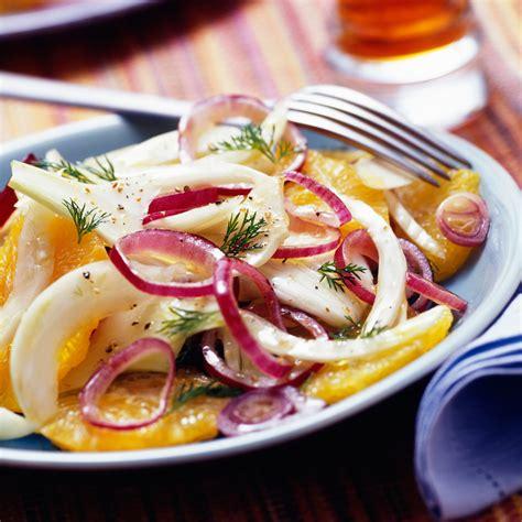 fr recette de cuisine salade de fenouil à l 39 orange facile et pas cher recette