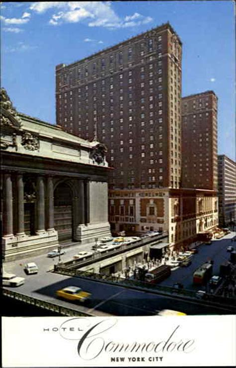 hotel commodore new york city ny