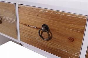 Holz Vintage Look : wandgarderobe trio landhaus stil 3 kleiderhaken holz vintage look wei kaufen bei mehl wohnideen ~ Eleganceandgraceweddings.com Haus und Dekorationen