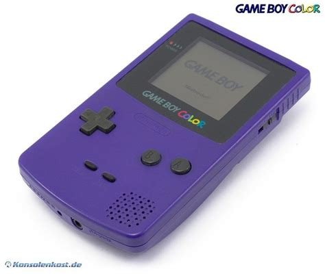gameboy color mods gameboy color console purple purple grape with
