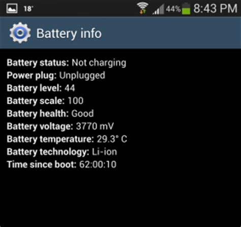 local time and temperature phone number how to check android phone battery health