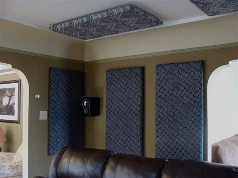 sound deadening curtains diy how to build your own acoustic panels diy