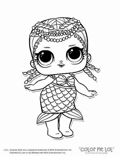 Lol Coloring Pages Printable Dolls Surprise Colorings