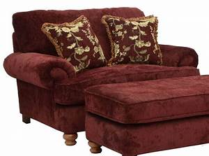 Jackson Belmont Chair And A Half In Claret 4347 01 CODE