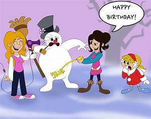 Frosty the snowman happy birthday | Pictures Reference