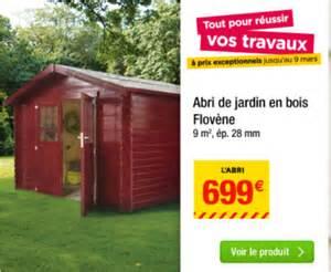 Abris De Jardin Leroy Merlin Promo by Abri De Jardin Pas Cher Les Meilleures Offres Du Moment