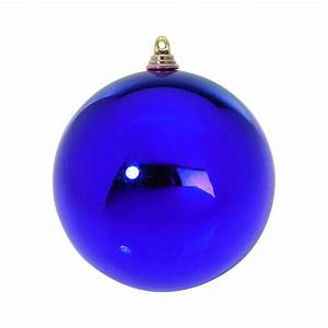 Boule De Noel Bleu : boule de noel bleu de 6cm ~ Teatrodelosmanantiales.com Idées de Décoration