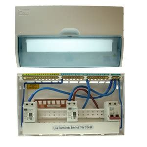 europa 12 way 17th edition split load consumer unit at uk electrical supplies