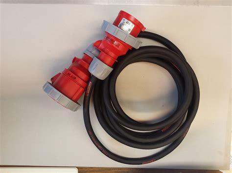 silikonkabel 5x2 5 cee starkstromkabel 5x2 5 mm 178 16a verl 228 ngerungskabel ab 5