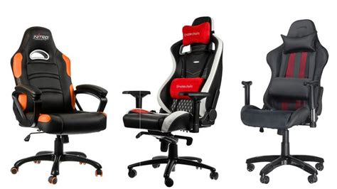 best pc gaming chairs uk test centre pc advisor