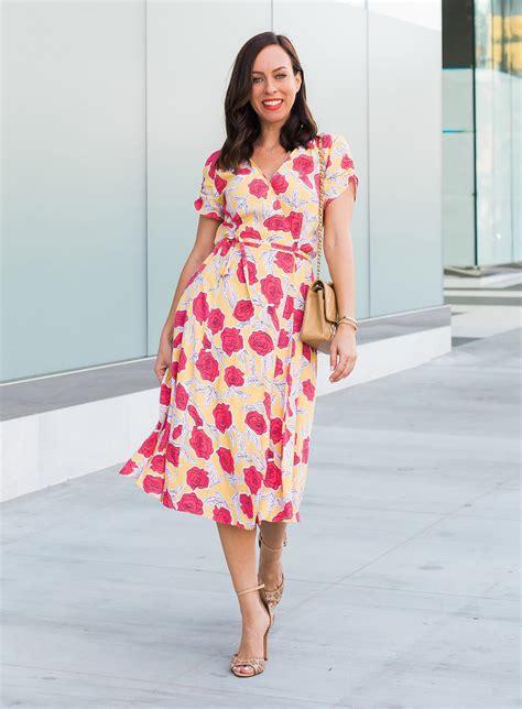 wrap dresses  summer office outfit ideas sydne style