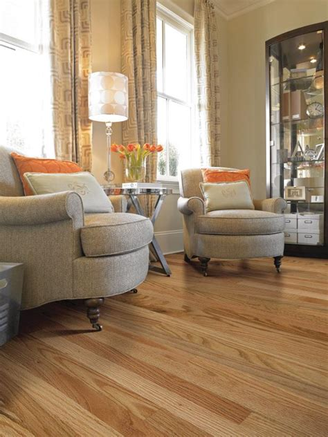 Living Room Designs With Oak Flooring by 10 Stunning Hardwood Flooring Options Hgtv