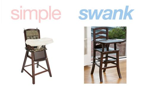 Solid Wood Eddie Bauer High Chair by Simple Or Swank Wooden High Chairs Popsugar