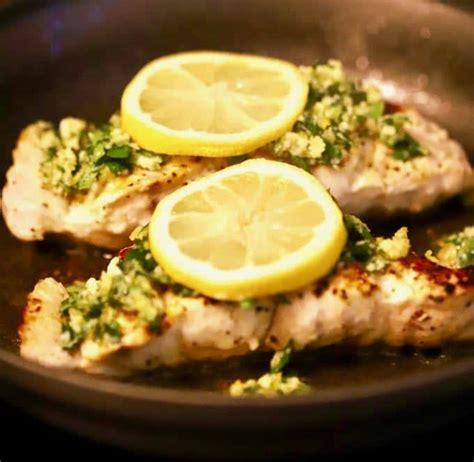 grouper pan seared gremolata easy recipe gritsandpinecones