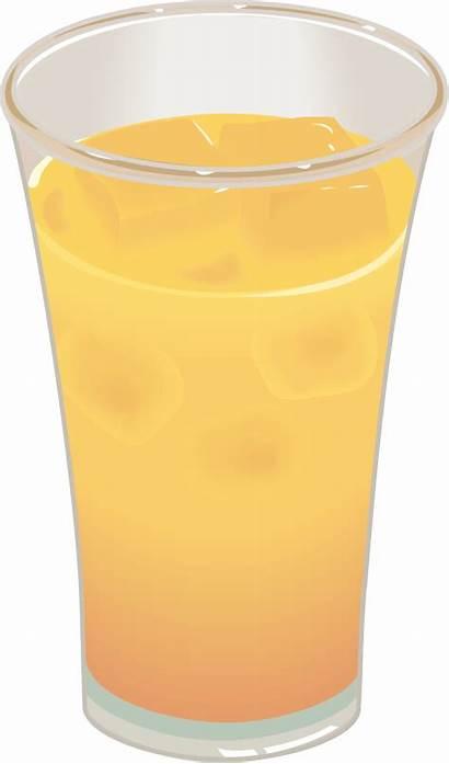 Juice Orange Glass Clip Onlinelabels Svg