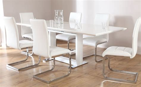 modern white kitchen table contemporary kitchen tables and chairs contemporary