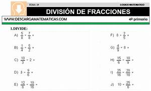 Problemas De Multiplicacion Y Division Para Cuarto De Primaria