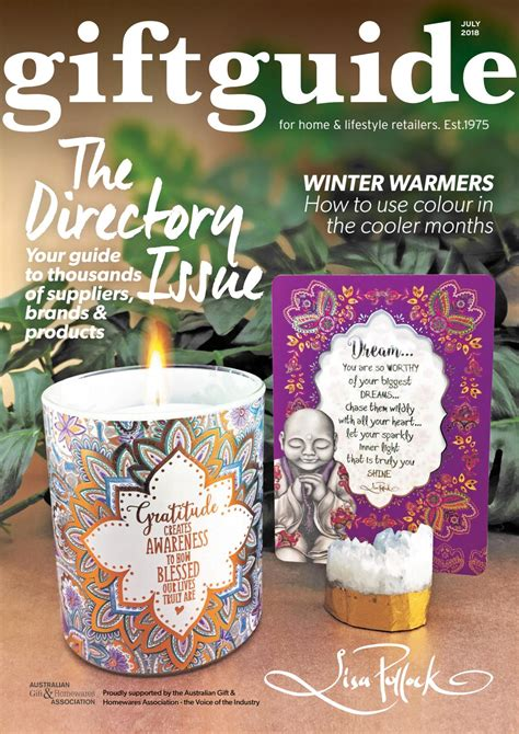 Giftguide July 2018 by The Intermedia Group Issuu