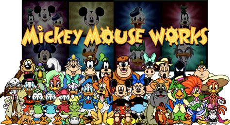 mouse works disney microheroes wiki