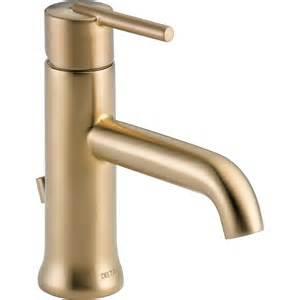 high arc kitchen faucet reviews shop delta trinsic chagne bronze 1 handle single 4