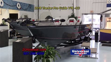 Boats For Sale Rochester Mn by 2016 Tracker Pro Guide V16 Sc Fishing Boat For Sale