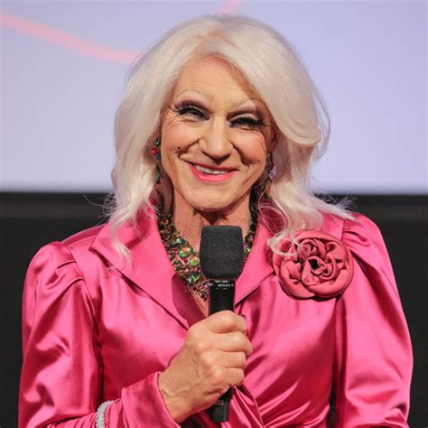 patrick stewart laughing patrick stewart appears in drag for a hollywood screening