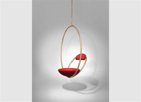 hanging photos hanging hoop chair brass