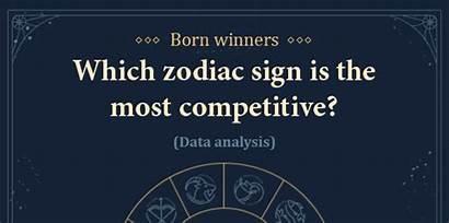 Zodiac Signs Born Study Competitive Sign Runrepeat