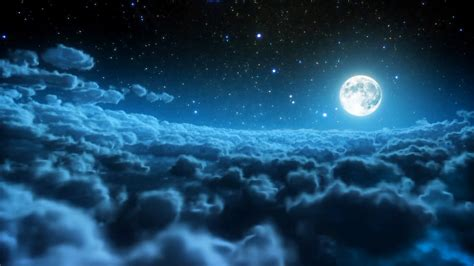 Moon And Clouds Wallpaper by Best 40 To The Moon And Back Wallpaper On Hipwallpaper