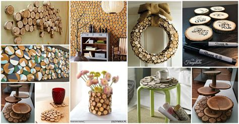 Decoration Ideas: Authentic Wood Slices Decor Ideas For Your Home