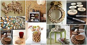 Authentic, Wood, Slices, Decor, Ideas, For, Your, Home
