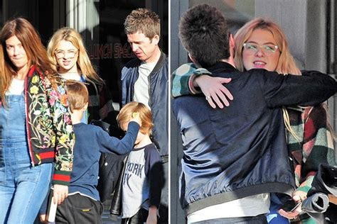 ℗ 2009 noel gallagher/teenage cancer trust. Noel Gallagher reunites with teen daughter Anais during ...