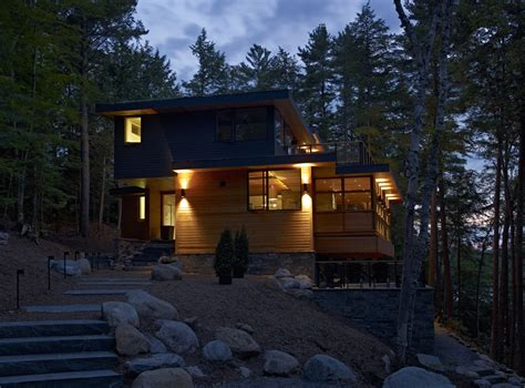 House In The Forest by World Of Architecture Forest House Lake Joseph Cottage