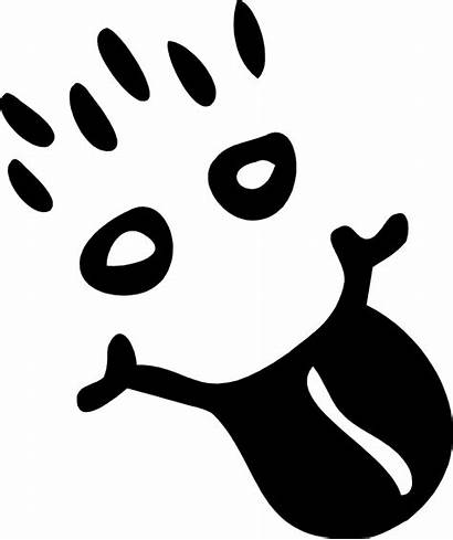 Silly Face Clip Clipart Happy Visage Openclipart