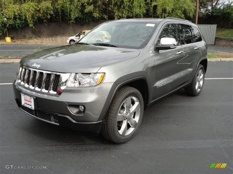jeep grand cherokee gray 2012 mineral gray metallic jeep grand cherokee overland