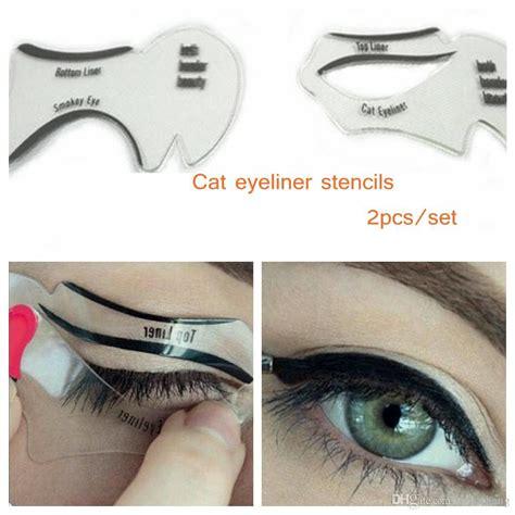 eyeliner template cat eye stencils makeup stencil eyeline models template eyeliner card auxiliary tools smoky