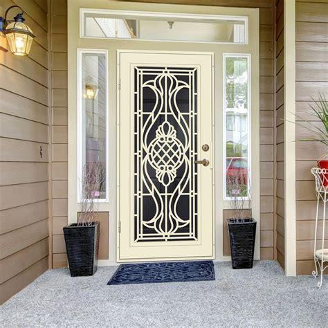 titan security screen doors sentry door premium aluminum