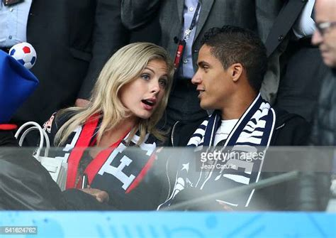 *prank on mom* ferran tells his mom that him and sophia are boyfriend and girlfriend! Raphael Varane and his wife Camille Tytgat attend the UEFA ...