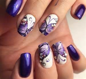 Simple butterfly nail art designs with pictures creative