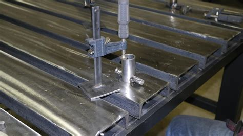 welding table channel laser attachment fabrication fab practicalmachinist vb country