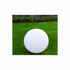 Boule Decorative Extérieure : boule lumineuse blanche ext rieure jardin et saisons ~ Teatrodelosmanantiales.com Idées de Décoration
