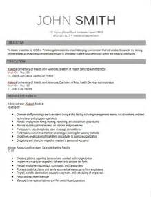 Executive Style Resume Template Modern Cv Template Kukook