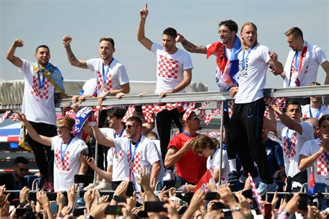 Fifa World Cup Russia Teams Croatia