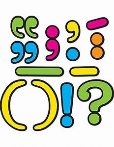 Punctuation Marks - Magnetic Display Accents TCR77220