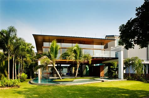 Tropical Home Style : Tropical House Design And Decor Ideas #