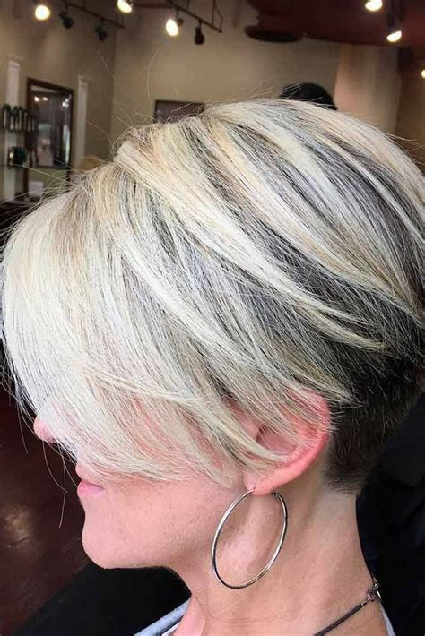 wedge haircuts for gray hair 20 trendy haircuts for 50 3301