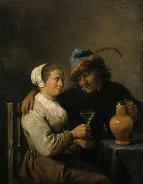 Baroque Artworks by Tavern Scene 1640 David Teniers The Younger Wikiart Org