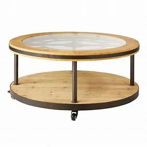 Table Basse Ronde Maison Du Monde : table basse horloge maison du monde ~ Teatrodelosmanantiales.com Idées de Décoration