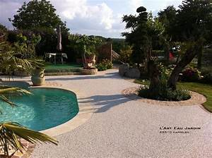 Photo D Amenagement Piscine : am nagement de piscine l 39 art eau jardin ~ Premium-room.com Idées de Décoration